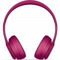 Beats Solo³ Wireless Bluetooth On-Ear Headphone with Mic - Brick Red