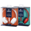 Cresyn C260H On-Ear Headphone with Mic - Red