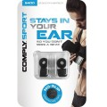 Comply Sport S-400 Foam Eartips (Medium 2-Pairs) - Black_2