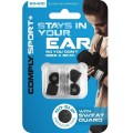 Comply Sport+ SX-400 Foam Eartips (Medium 2-Pairs) - Black_2