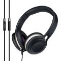 Cresyn C590H On-Ear Headphone with Mic - Black_4