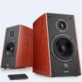 Edifier R2000DB BT 2.0 Wireless Bluetooth Desktop Bookshelf Speaker System brown