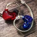 FiiO FA7 Red Blue
