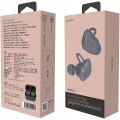 Nuarl NT01L Stereo True Wireless Bluetooth In-Ear Earphone with Mic - Dark Gray