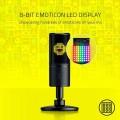 Razer Seirēn Emote USB Microphone Streaming Broadcasting