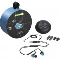 Shure AONIC 215 Special Edition In-Ear Earphone with Mic - Blue - 3