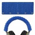 Woven Woollen Headband Protector (Blue)